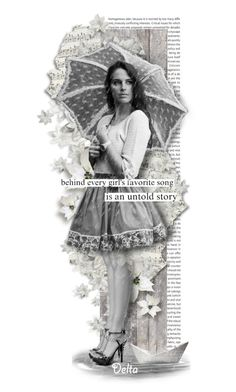 """Smell The Rain"" by delta ❤ liked on Polyvore featuring art, blackandwhite, rain and umbrella"
