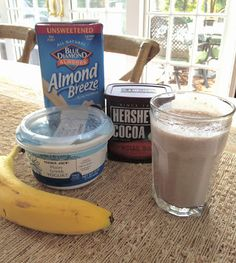 Super Healthy Chocolate Breakfast Shake