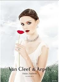 Lisa Cant , Face of  Van Cleef & Arpels
