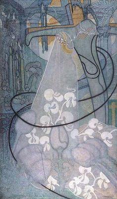 Johan Thorn Prikker: The Bride, 1893.