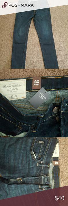 Mens abercrombie super skinny jeans Brand new 32w 30l Abercrombie & Fitch Jeans Skinny