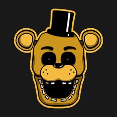 Check out this awesome 'Golden+Freddy' design on TeePublic! #fnaf  #fnaf2  #fivenightsatfreddys  #foxy  #freddy  #chica  #bonnie  #securityguy  #mangle  #pizza  #logo  #goldenfreddy