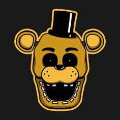 Check out this awesome 'Golden+Freddy' design on TeePublic! #fnaf  #fnaf2  #fivenightsatfreddys  #foxy  #freddy  #chica  #bonnie  #securityguy  #mangle  #pizza  #logo  #goldenfreddy