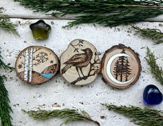Set of three wood burned ornaments to hang available now in my Etsy Shop :)   #handmade #homedecor #gift #ornaments #christmasdecorations #christmasgift #christmastree #decorations #wood   https://www.etsy.com/it/listing/492028311/set-3-decorazioni-da-appendere-foresta   https://www.etsy.com/it/listing/492028311/set-3-decorazioni-da-appendere-foresta
