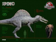 """spinosaurus jurassic park 3 - Buscar con Google I don't care if it eats people, I would want one as a pet and ride it to school instead of a car. If Owen Grady can """"train"""" raptors-like he did in Jurassic World, I want to do the same with the spino <<<<<<< Absoluty yes"""