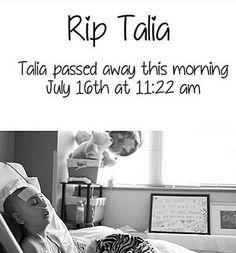 R.I.P. Talia