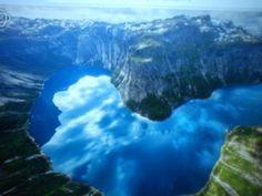 Norský fjord