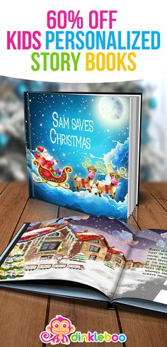 A story about your child saving Christmas by turning the lights on the house to help Santa see on a foggy night.