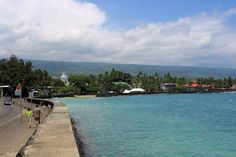 Spent a vacation a year for ten years is this cute town on The Big Island. Thanks dad for living there. Now move back please.