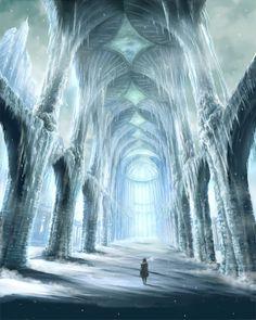 Fairy tale inspiration: Queen of ice and snow / karen cox.  Secret Kingdom #snow queen
