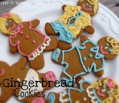 Gingerbread Men Cookies: Recepie