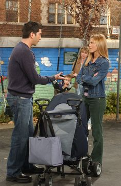 Friends ~ Episode Stills ~ Season 10, Episode 7: The One With the Home Study #amusementphile