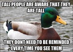 being tall 18 The struggles of being TALL (26 photos)