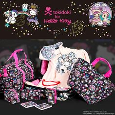 Get lost in space with the new tokidoki x Hello Kitty Cosmic collection. Don't miss out!