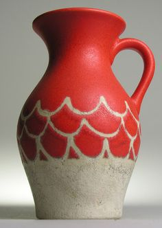 Ü Übelacker Keramik West German Pottery