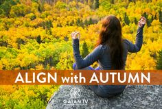 Ready to turn over a new autumn leaf? Gaiam TV with My Yoga Online is now $4.95 for your first month, but only through 9/30! Online Yoga, Learning Process, Auras, Spirituality, Autumn, Workout, Tv, Fitness, Movie Posters