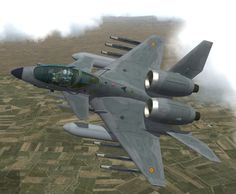 a concept by Leopardo, based on the PZL 230F Skorpion