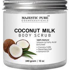 Coconut Milk Scrub