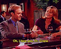 "23 Reasons Niles And Daphne From ""Frasier"" Were The Best TV Couple Ever"