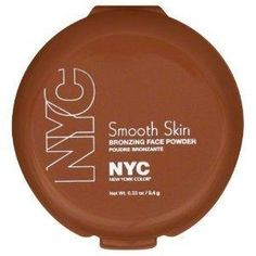 NYC Smooth Skin Bronzing Face Powder in Sunny This is one of the most flattering matte bronzer shades available—from a drugstore makeup brand or high-end cosmetics company! It's the perfect bronze without being flat brown or too orange Nyc Sunny Bronzer, Expensive Makeup Brands, Make Up Dupes, Beauty Dupes, Beauty Products, Skincare Dupes, Makeup Products, Beauty Makeup, Shopping
