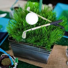 Golf Themed Party Ideas for Father's