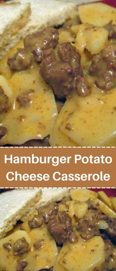 Hamburger Potato Cheese Casserole Cheese Potato Casserole, Easy Casserole Dishes, Brunch Casserole, Mexican Casserole, Hamburger And Potatoes, Hamburger Dishes, Beef Dishes, Food Dishes, Main Dishes
