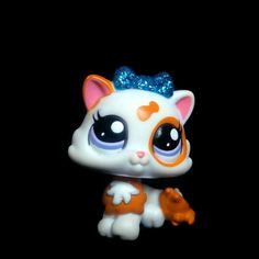 Littlest Pet Shop 2327 WHite Glitter Kitten Cat Baby Petriplet LPS Toy HASBRO in Toys & Games, Other Toys & Games | eBay!