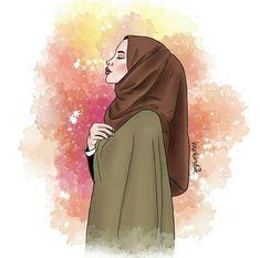 632 images about hijabista 👸🏻👸🏼👸🏽 on We Heart It See more girly_m hijab friends - Hijab Girly M, Girl Cartoon, Cartoon Art, Hijab Drawing, Islamic Cartoon, Anime Muslim, Hijab Cartoon, Pop Art Girl, Islamic Girl