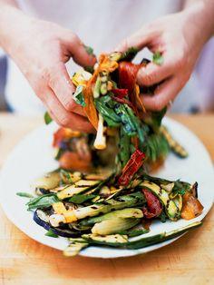 Chargrilled Vegetables | Vegetables Recipes | Jamie Oliver Recipes