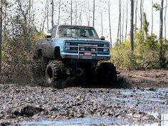 Muddy Chevy, looks like fun