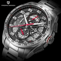 hundreds of products with discount and free shipping 🎃🎃🎃 Original PAGANI DESIGN Top Luxury Brand Sports Chronograph Men's Watches:… ⭐⭐⭐