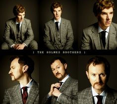 Gatiss and Cumberbatch.