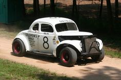 Ralph Earnhardt race car