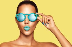 With Spectacles, Snap Inc. eyes augmented reality future, raw reality present - Marketing Land Snapchat Spy, Snapchat Camera, Snap Inc, Snap Chat, Pierre Turquoise, Google Glass, Beauty Makeup, Internet Of Things, Fashion Photography
