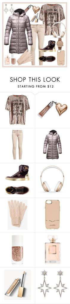 """""""Untitled #68"""" by glamheartcafe ❤ liked on Polyvore featuring Topshop, Beauty Rush, The North Face, Barracuda, Beats by Dr. Dre, White House Black Market, Rebecca Minkoff, Burberry, Apples & Figs and Komono"""