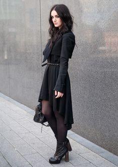 4ceefebbabb Fashion Blogger FAIIINT wearing Todd Lynn for Topshop Cropped Tux Jacket