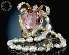 Kunzite: Pink Evening Gemstone _ is one of the few gemstones that can be found in the color pink. Kunzite is becoming increasingly popular as most of its pink competitors are either of lower quality or far higher priced. Kunzite was first found in 1877 in Connecticut, USA. It was only recognized as a new gemstone in the year 1902 by the legendary gemologist George Frederick Kunz.  Kunzite is a variety of the mineral spodumene, with the other variety being hiddenite.