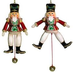 Soldier Puppet Ornament [H3686C] CD