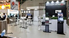 Trade Show Booth Design, Stand Design, 3d Design, Companies In Usa, Swiss Design, 3d Visualization, Display, Space, Amazing