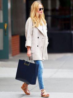 atriz-kate-bosworth-street-style-calca-jeans-sobretudo-estilo