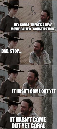 Image result for walking dead memes coral