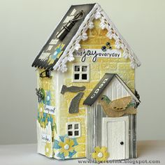 Layers of ink: Yellow Brick 3D house tutorial by Anna-Karren Evaldsson.