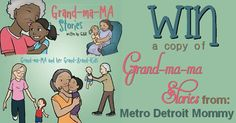 Grand-Ma-MA Stories by GigiK, get ready for some heart warming memories! #giveaway {ends 10/2}