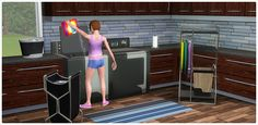 Ultra Lounge Laundry - Store - The Sims™ 3