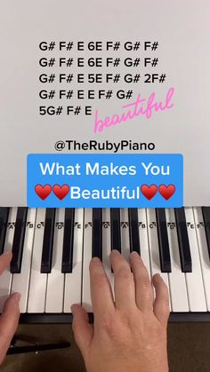 Piano Sheet Music Letters, Piano Music Easy, Piano Music Notes, Piano Tutorial, Keyboard Tutorial, Music Mood, Song Playlist, Music Lessons, Tiktok Watch