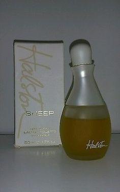 Vintage Halston Sheer Natural Spray EDT 1.7 FL Oz **RARE!!**