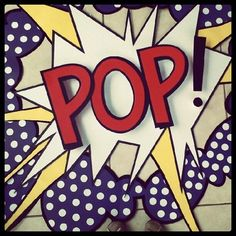 This is an image that comes up a lot when you search pop art. It seems like something out of a comic book. It also has simple but bright colors. Middle School Art, Art School, Roy Lichtenstein Pop Art, Bd Art, Image Deco, 5th Grade Art, Ecole Art, Up Book, School Art Projects
