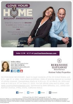 Dutchess County Real Estate: Love Your Home - $50,000 Sweepstakes!