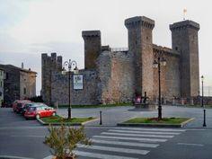 Italy, Bolsena, la Rocca dei Monaldeschi della Cervara. 42°38′41″N 11°59′09″E