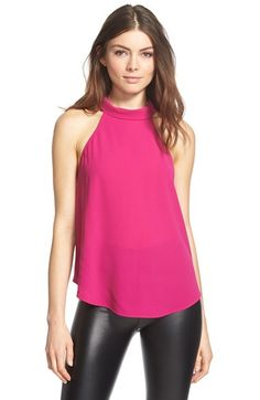 Leith Mock Neck Halter Top available at #Nordstrom